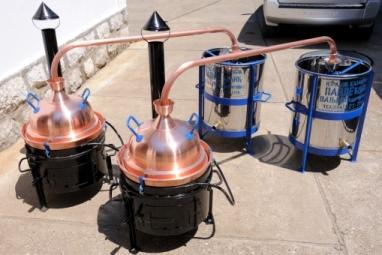 Kazani za rakiju zapremine od 15 do 20 litara